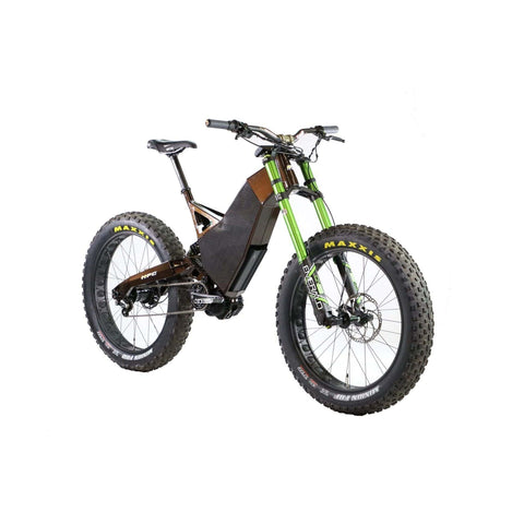 Image of HPC Revolution AT Electric Bike gray front angle