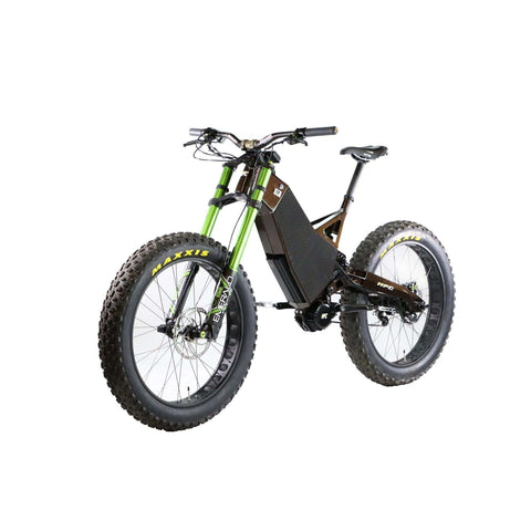 Image of HPC Revolution AT Electric Bike gray front angled view