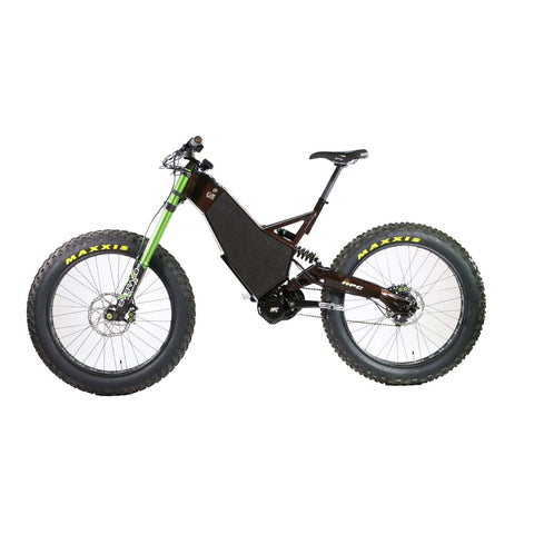 Image of HPC Revolution AT Electric Bike gray left side