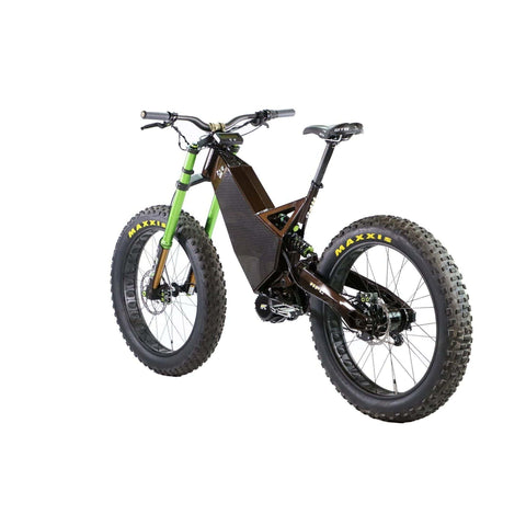 HPC Revolution AT Electric Bike gray rear