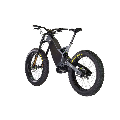 Image of HPC Revolution AT Electric Bike gray rear