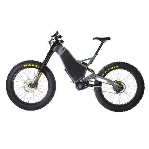 HPC Revolution AT Electric Bike gray left side