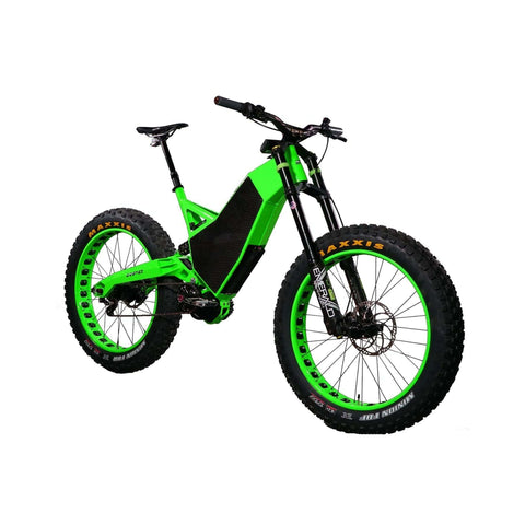 Image of HPC Revolution AT Electric Bike green front view