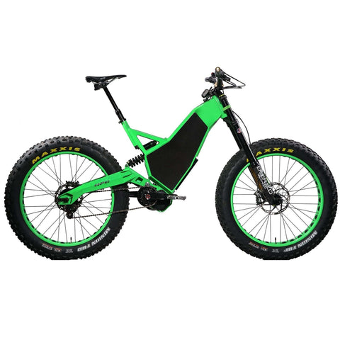 HPC Revolution AT Electric Bike green right side