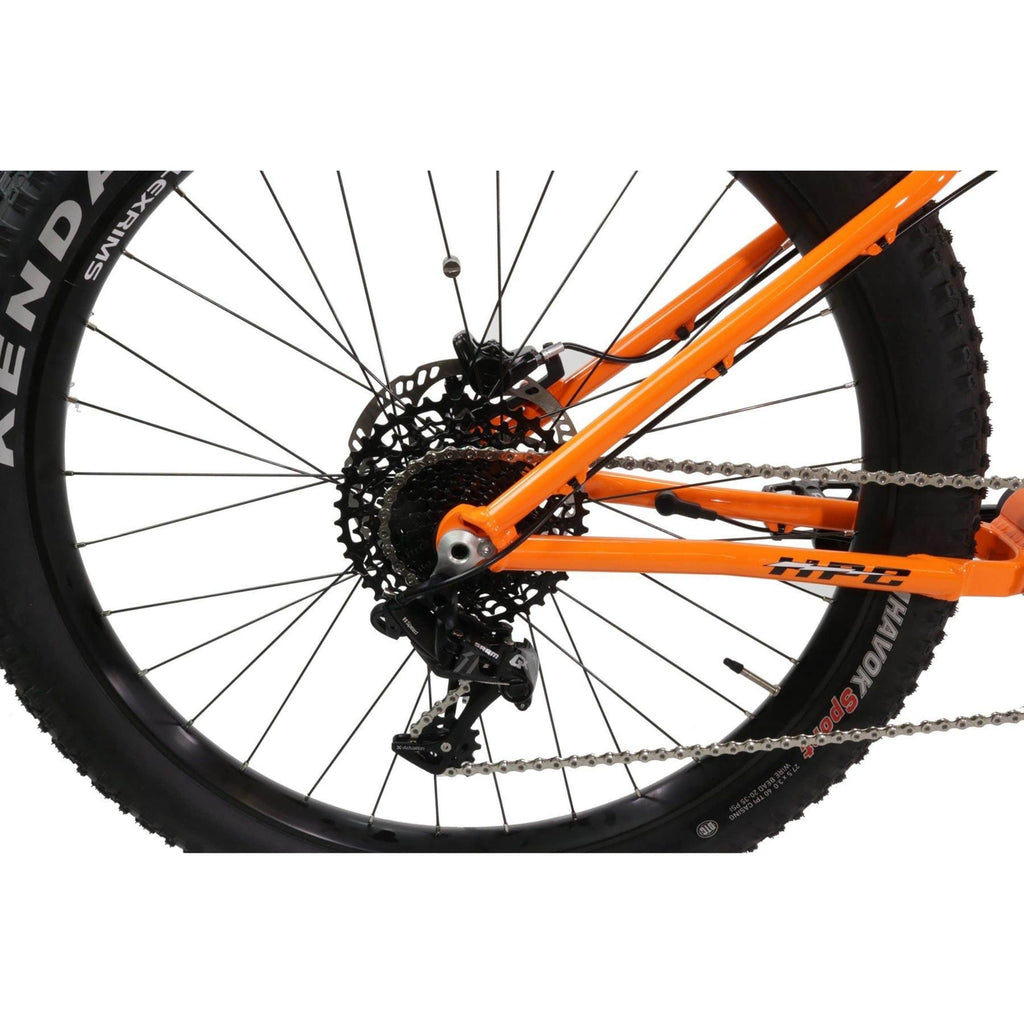 HPC Scout Electric Bike frame and rear wheel