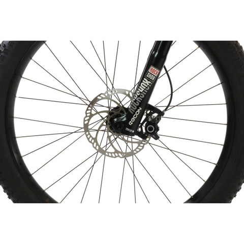 Image of HPC Scout Electric Bike wheel close up
