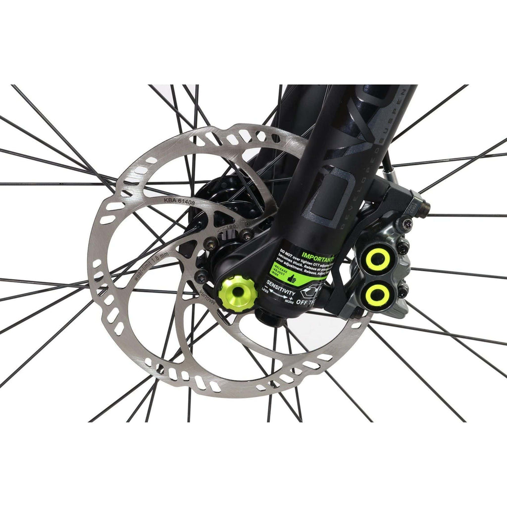 HPC Scout Pro Electric Bike discs
