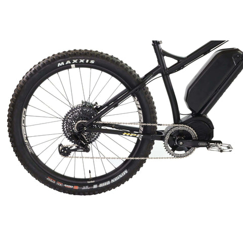 Image of HPC Scout Pro Electric Bike rear wheel