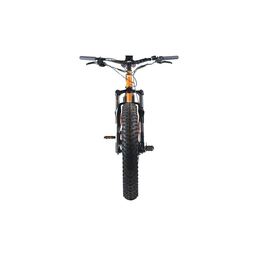 HPC Titan Electric Bike front wheel