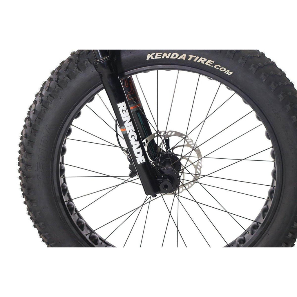 HPC Titan Electric Bike wheel
