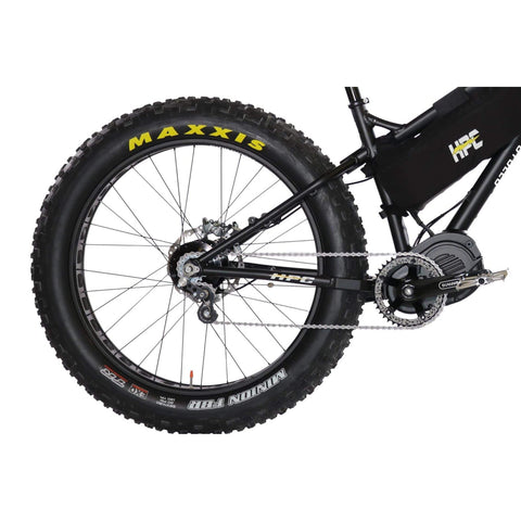 HPC Titan Pro Electric Bike rear wheel
