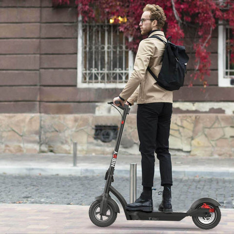 Image of Hiboy Max 3 Electric Scooter action shot