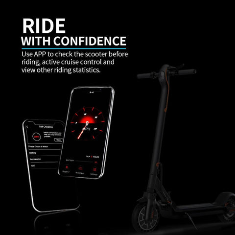 Image of Hiboy Max V2 Electric Scooter app