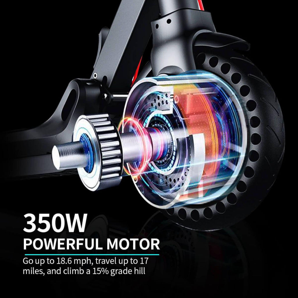 Hiboy Max V2 Electric Scooter wheel graphic