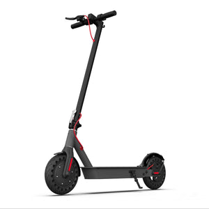 Hiboy S2 Electric Scooter side angle view