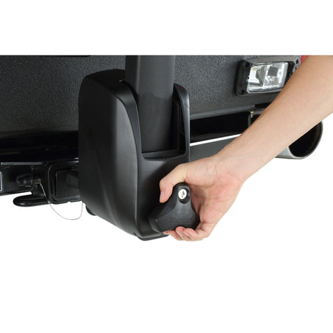 Image of INNO Tire Hold 2 Hitch Bike Rack front lock