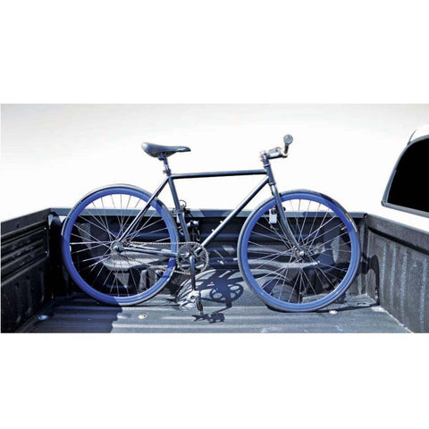 Image of INNO Truck rack bike on side of truck