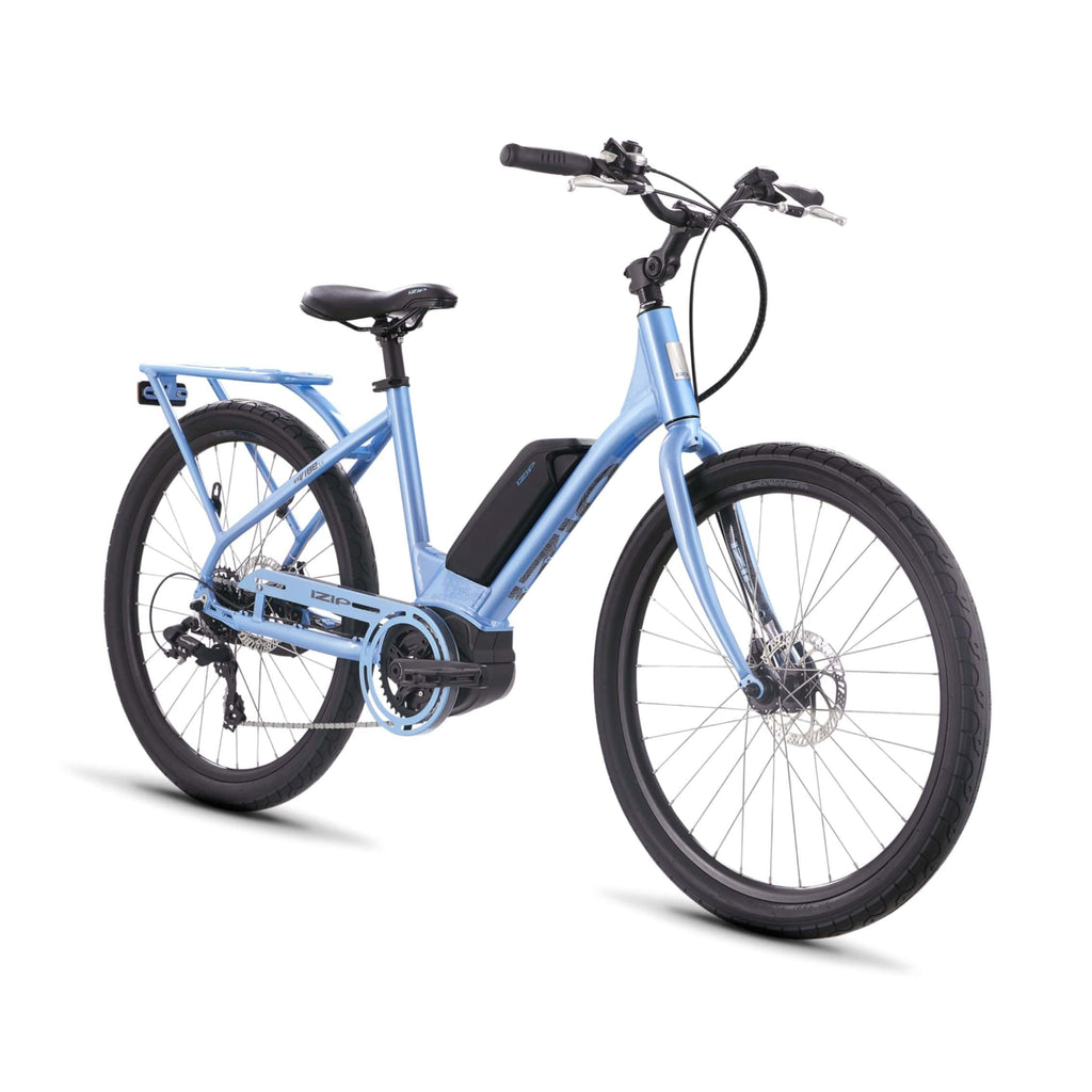 IZIP Vibe 2.0 Step-Thru Electric Bike front angle