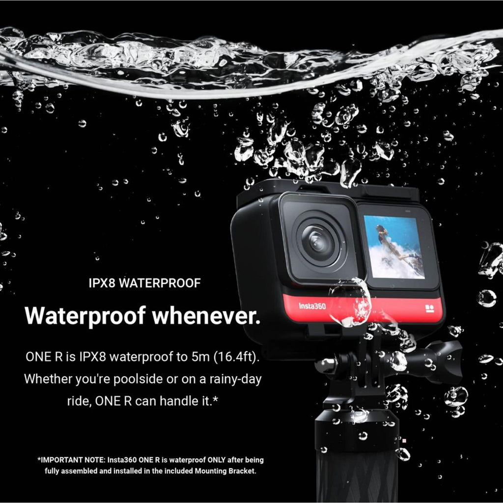 Insta360 One R Twin Edition waterproof graphic
