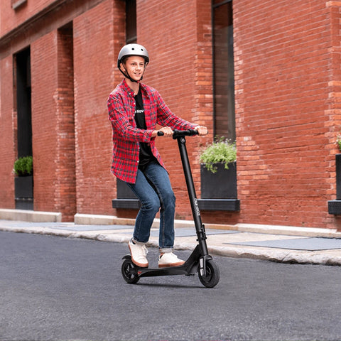 Jetson Element Pro Electric Scooter side action shot