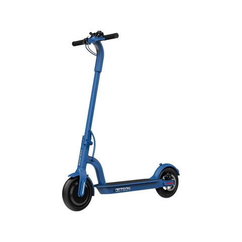 Jetson Eris Electric Scooter blue front angle