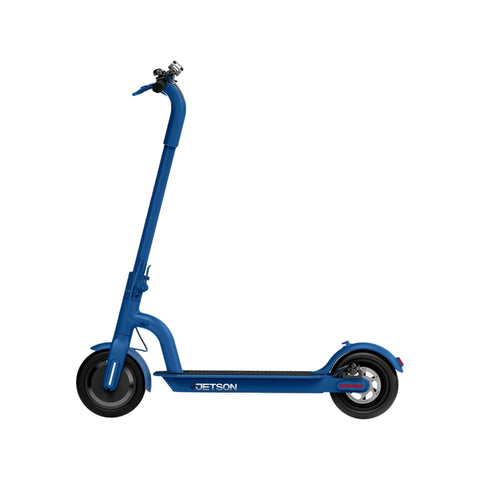 Jetson Eris Electric Scooter blue side angle