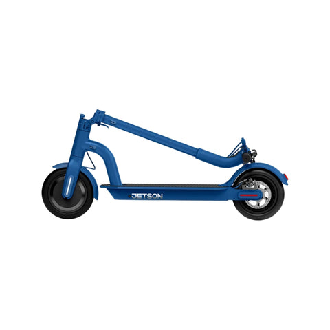 Jetson Eris Electric Scooter blue folded