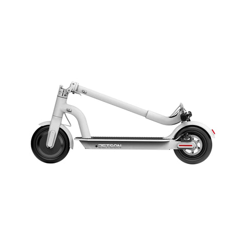 Jetson Eris Electric Scooter white folded
