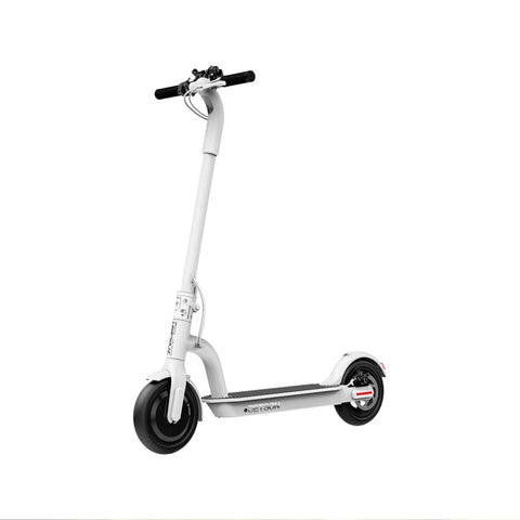 Jetson Eris Electric Scooter white front angle