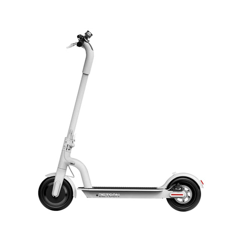 Jetson Eris Electric Scooter white side view