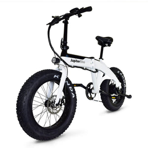 Jupiter Defiant Foldable Electric Bike white 3D View
