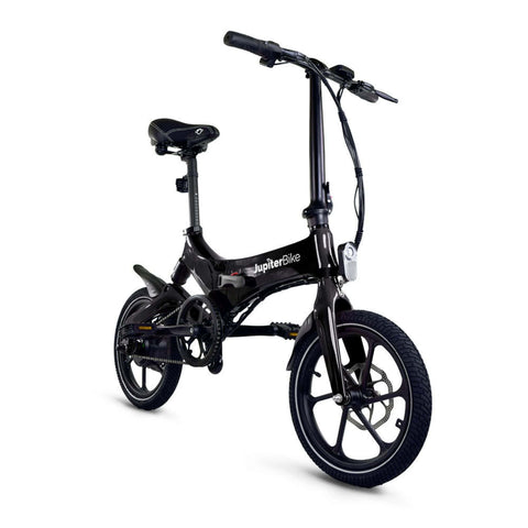 Image of Jupiter Discovery X5 Foldable Electric Bike black 3D view