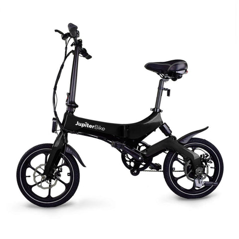 Image of Jupiter Discovery X5 Foldable Electric Bike black side view