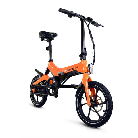 Image of Jupiter Discovery X5 Foldable Electric Bike orange 3D View