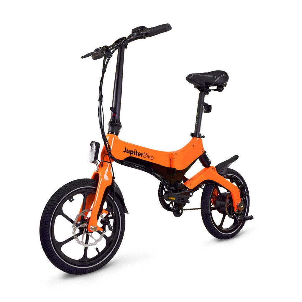 Jupiter Discovery X5 Foldable Electric Bike orange 3D view
