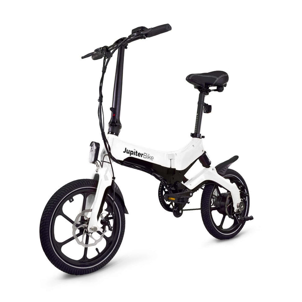 Jupiter Discovery X5 Foldable Electric Bike white 3D vew