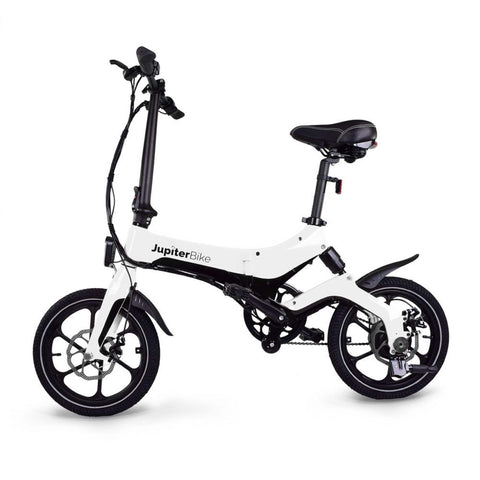 Image of Jupiter Discovery X5 Foldable Electric Bike white side
