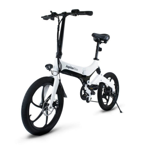 Image of Jupiter Discovery X7 Foldable Electric Bike white 3D view