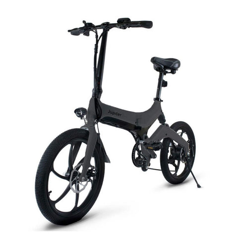 Image of Jupiter Discovery X7 Foldable Electric Bike grey 3D view