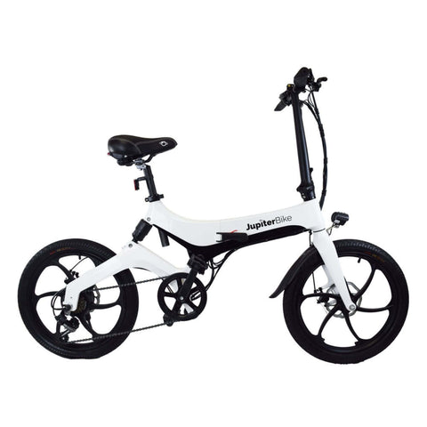 Image of Jupiter Discovery X7 Foldable Electric Bike side view