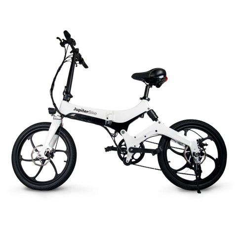 Jupiter Discovery X7 Foldable Electric Bike white side view