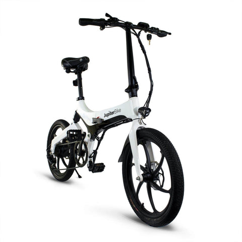 Jupiter Discovery X7 Foldable Electric Bike front angle view