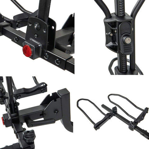 Image of KAC K1-RT KAC Overdrive Sports Hitch Mounted Bike Rack mosaic pictures