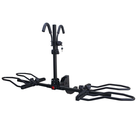 Image of KAC K2 Overdrive Sport Hitch Mounted Bike Rack assembled