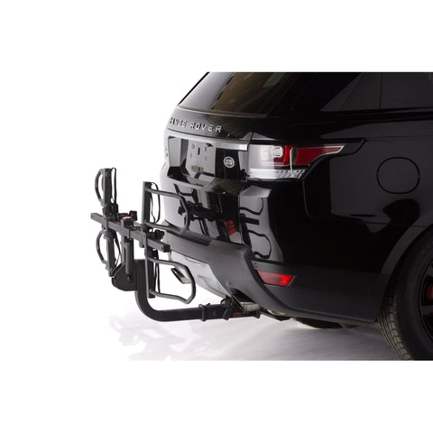 KAC K2 Overdrive Sport Hitch Mounted Bike Rack folded