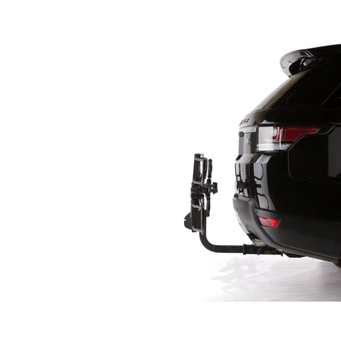 KAC K2 Overdrive Sport Hitch Mounted Bike Rack folded up