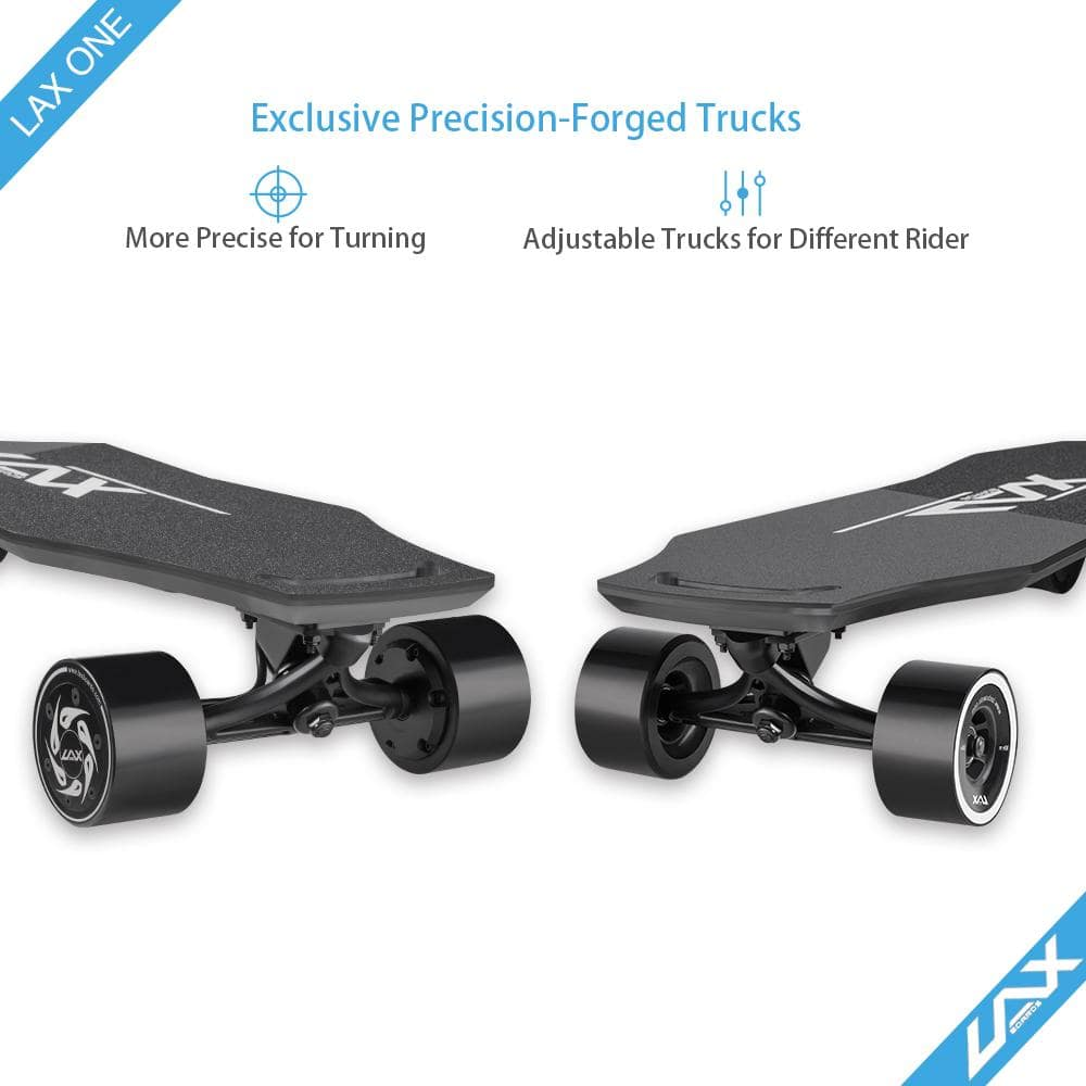 Laxboard LAX One electric Skateboard front trucks