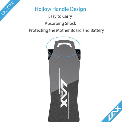 Image of Laxboard LAX One electric Skateboard top handle