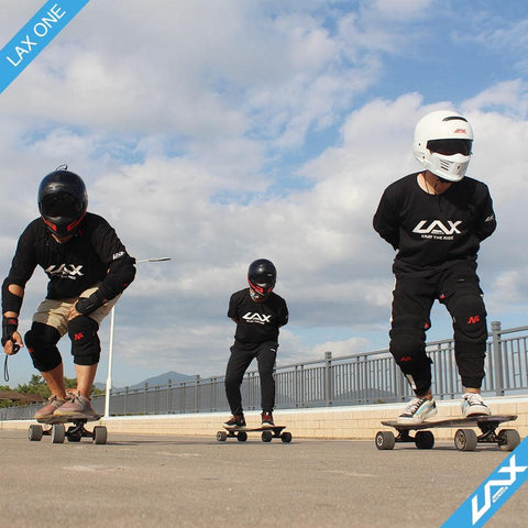 Image of Laxboard LAX One electric Skateboard 3 riders
