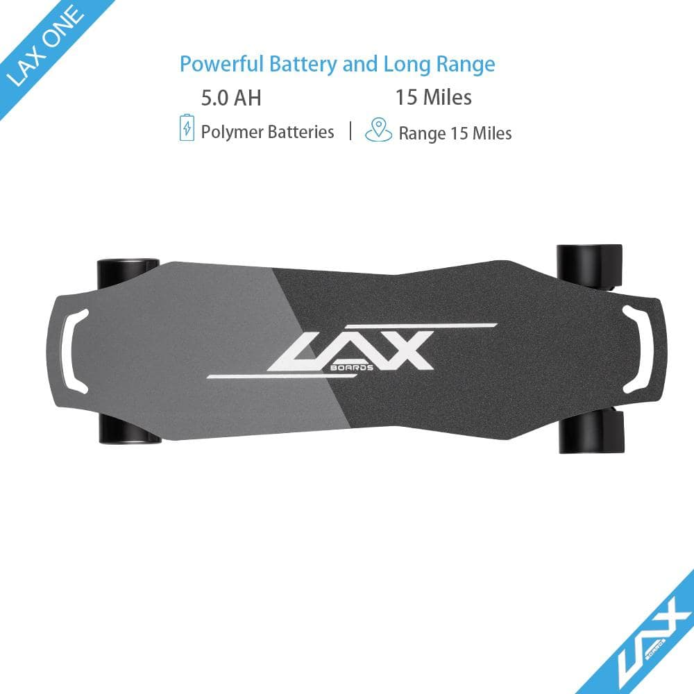 Laxboard LAX One electric Skateboard top grip tape